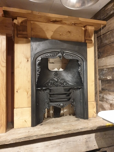 Bespoke Wooden Fireplace Surround