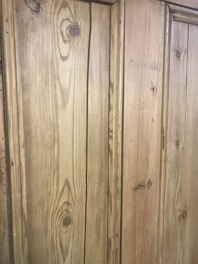 Reclaimed Stripped 4 panel Door SOLD