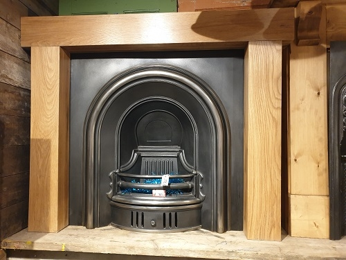 New Wooden Fireplace Surround