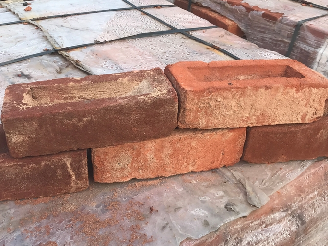 Reclaimed Mixed Bricks 235 x 110 x 70mm