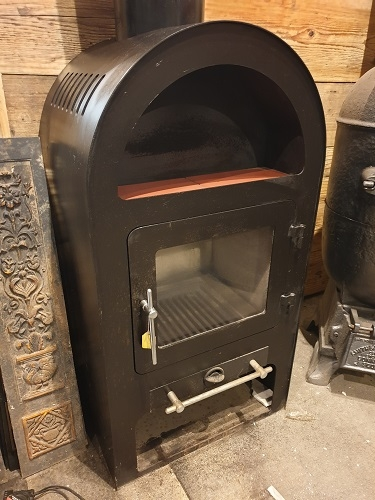 Reclaimed Large Arched 13 Kw Log Burner