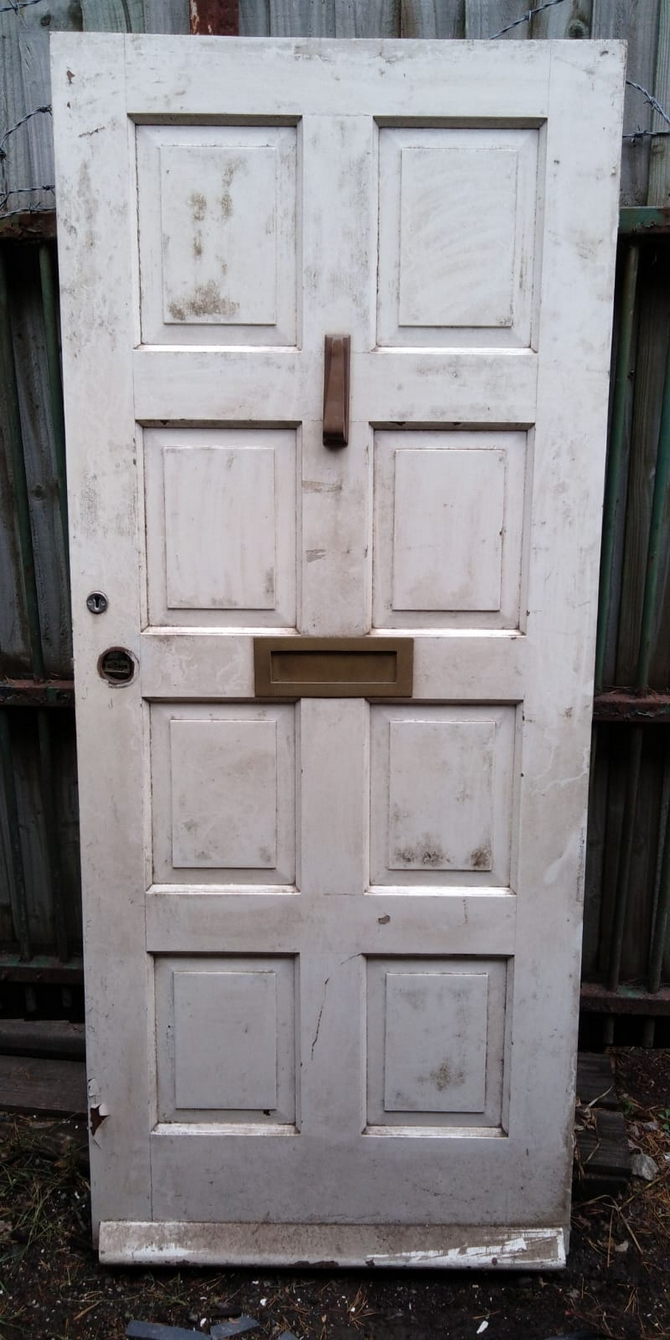 Solid 8 Panel Front Door