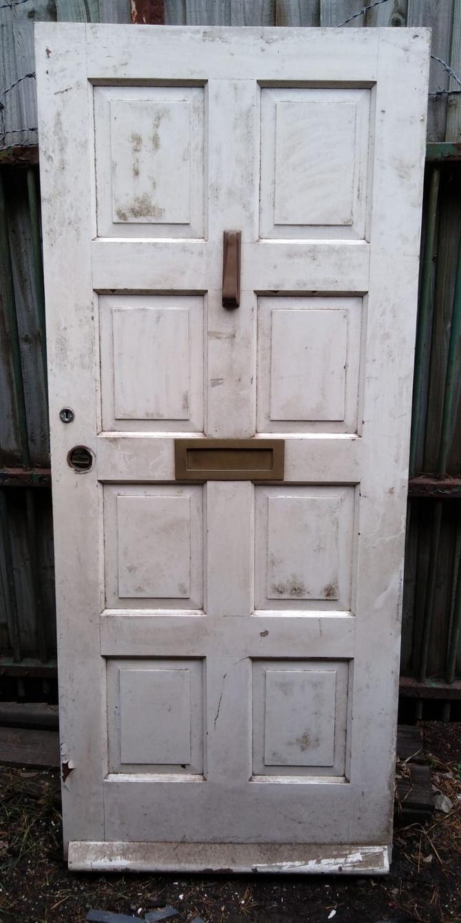Solid 8 Panel Front Door