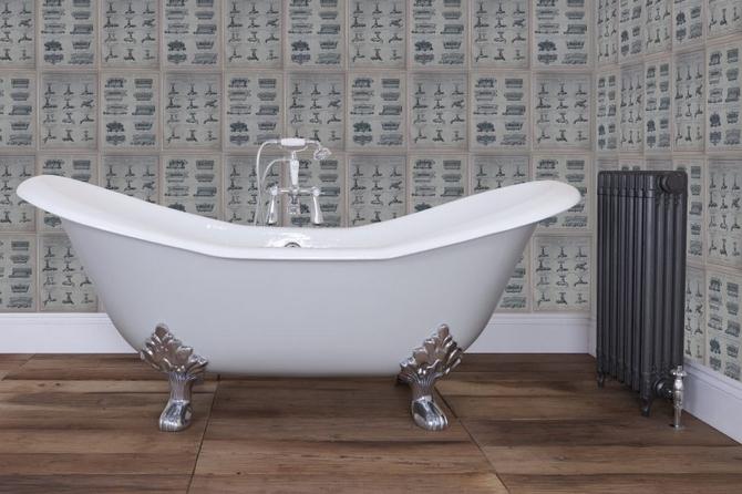 Banburgh Large Cast Iron Bath