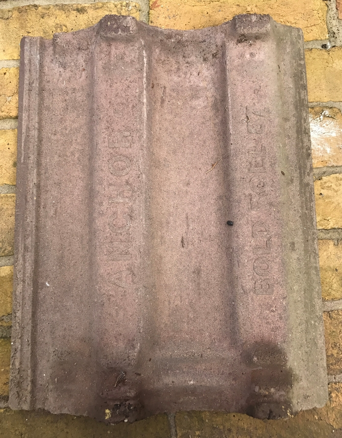 Reclaimed Anchor Bold Roll 87 Roof Tiles