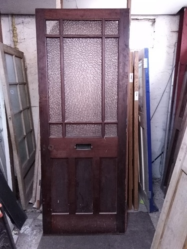Reclaimed Glazed Panel Door