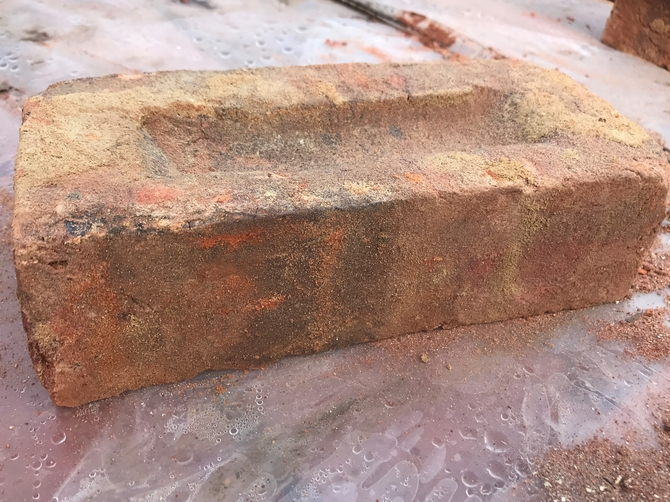 Reclaimed Imperial Bricks 235 x 115 x 70mm