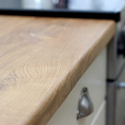 Solid Oak Kitchen Worktop 2m Long