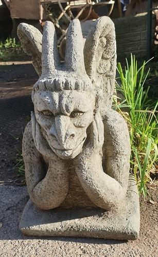 Horned Gargoyle Statue