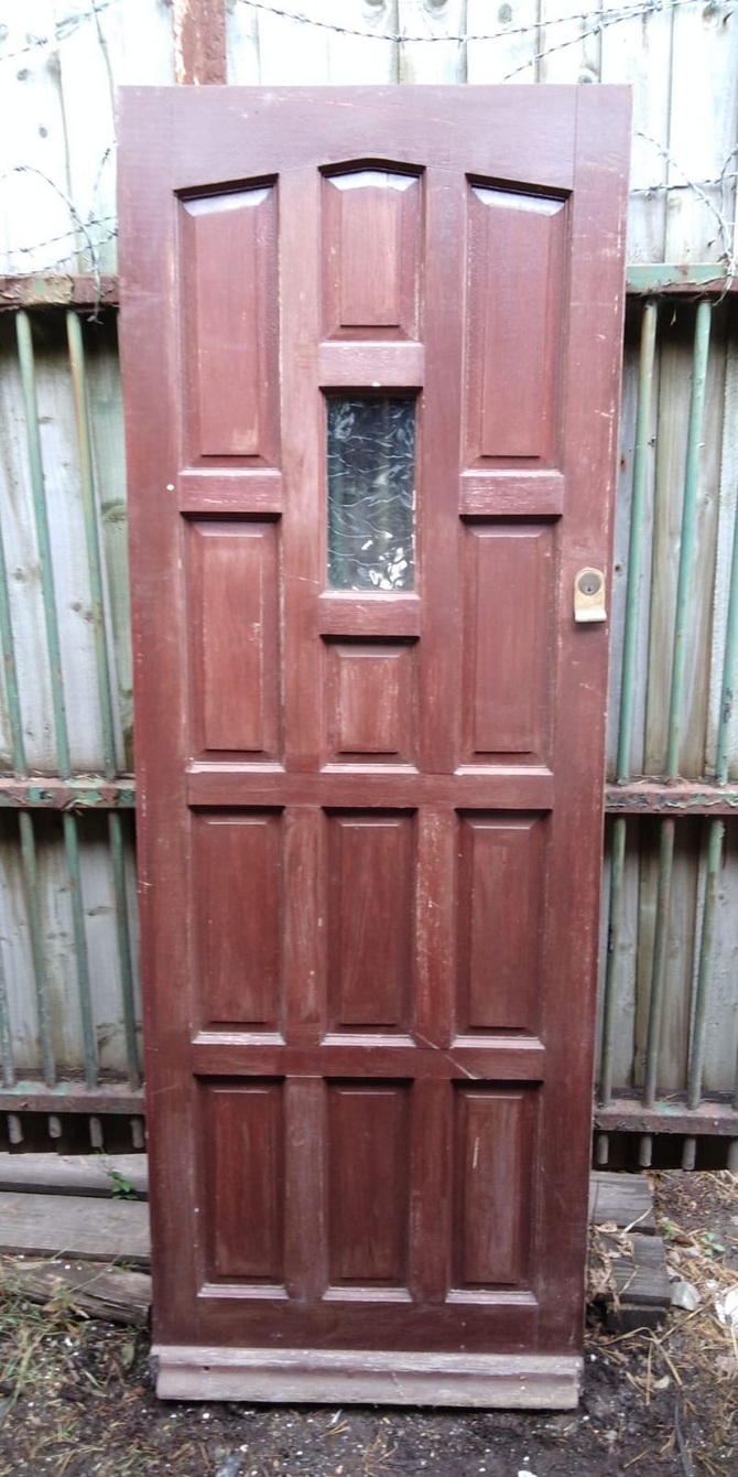 Single Glazed Front Door