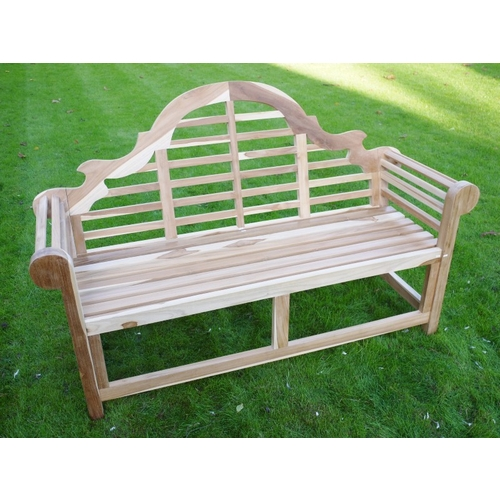 Marlboro Teak Bench SOLD