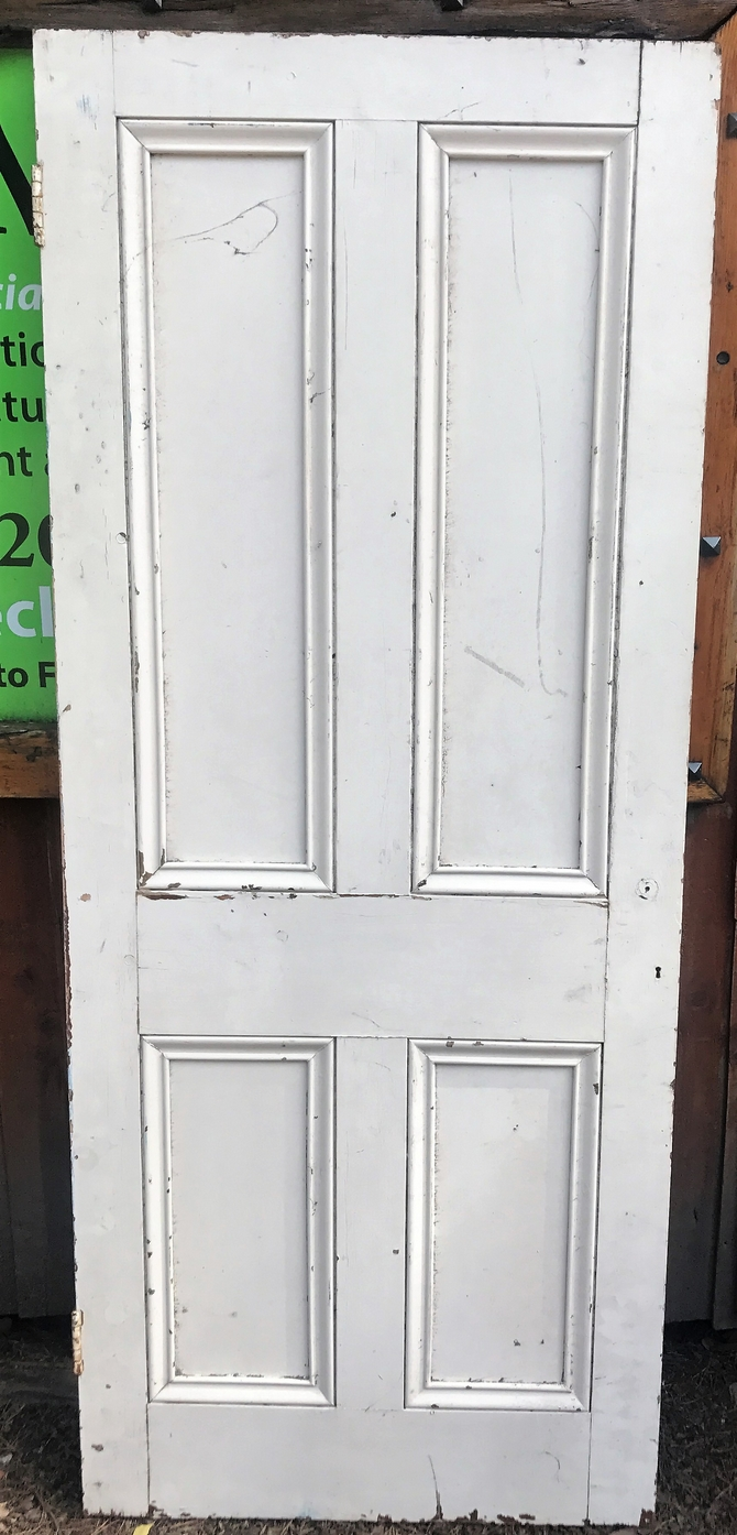 Reclaimed Four Panel Door