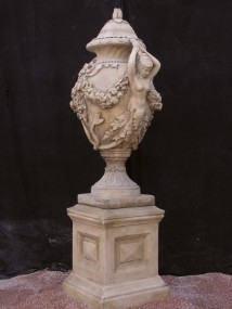 Pair of Margam Vase