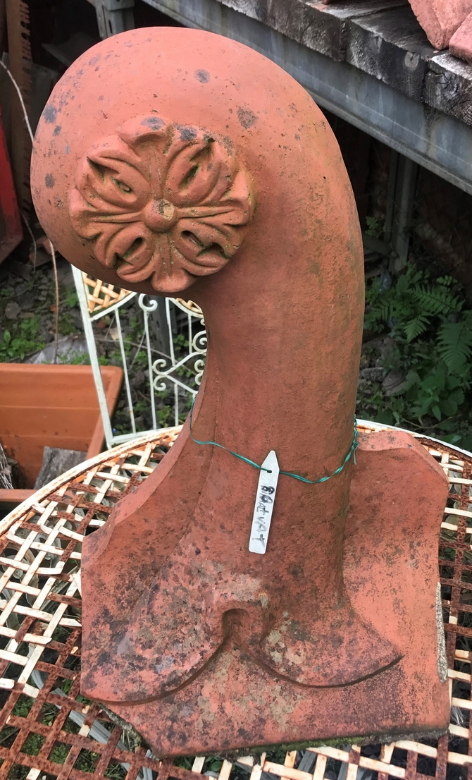 Decorative Victorian Style Flower Roof Finial