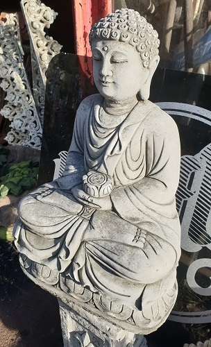 Lotus Buddha Statue