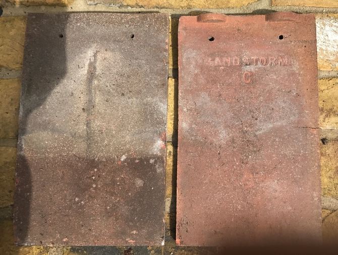 Reclaimed Sandstorm C Roof Tiles