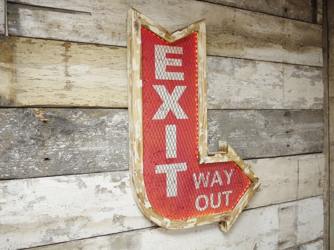 Exit Sign 4867