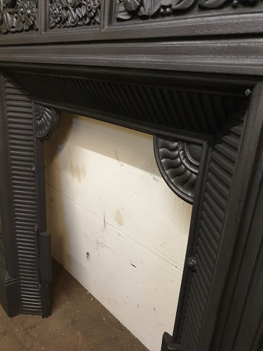 Original Thomas Jekyll Cast Iron Fireplace