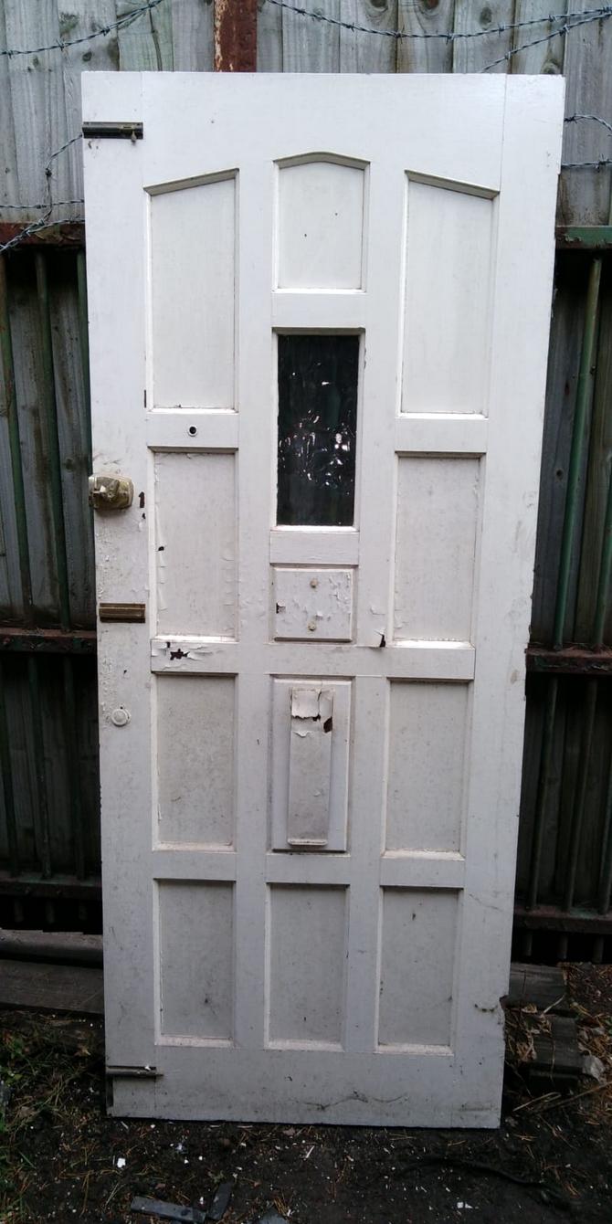 Solid Single Glazed Front Door