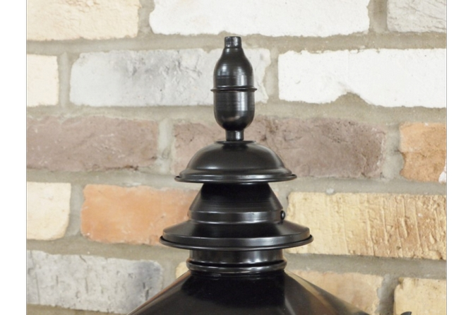 Small Black Victorian Style lamp top
