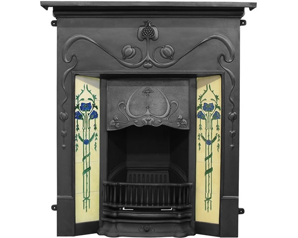 Valentine Cast Iron Combination Fireplace