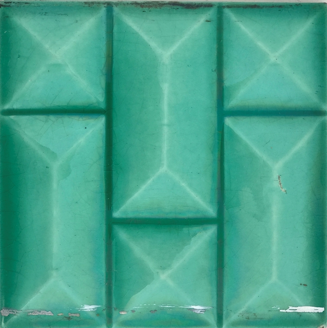 Antique Period Tiles Set of Ten