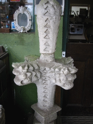 Church Finials ( One of a pair)