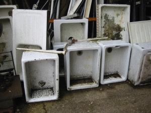 Various Reclaimed Butler Sinks