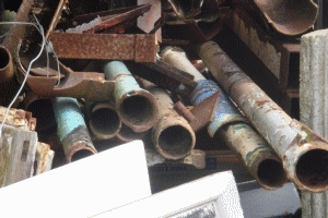 Cast Iron Guttering Down Pipes AR830