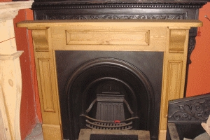 Solid Pine Fire Surround AR279