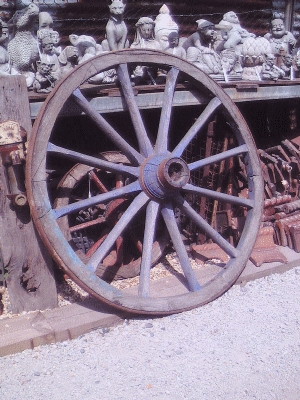 Cart wheel AR463